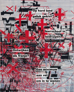 Machteld van Buren: 'Het beeld is gemaakt bij een tekst van Peter van Lier.'