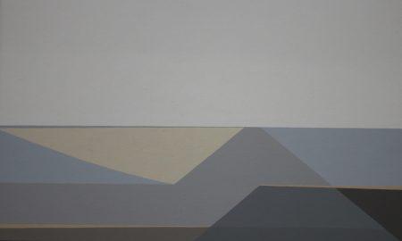 Johan van Aken - Abstract landschap (1)