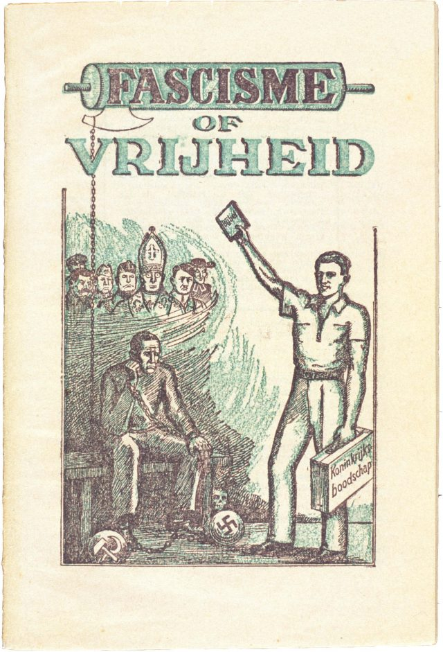 Brochure: fascisme of vrijheid